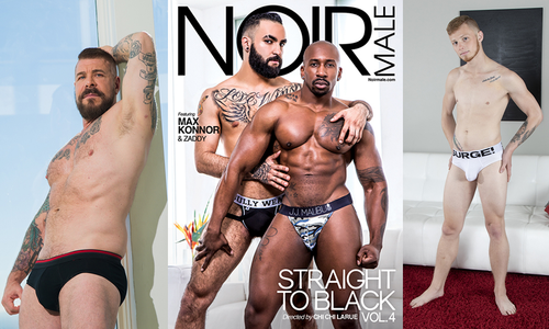 Chi Chi LaRue Directs 'Straight to Black 4' for Noir Male