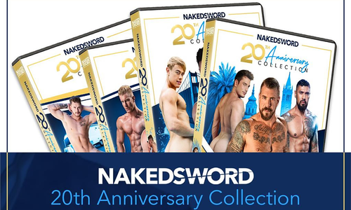 NakedSword Releases 20th Anniversary 4-Disc Collection