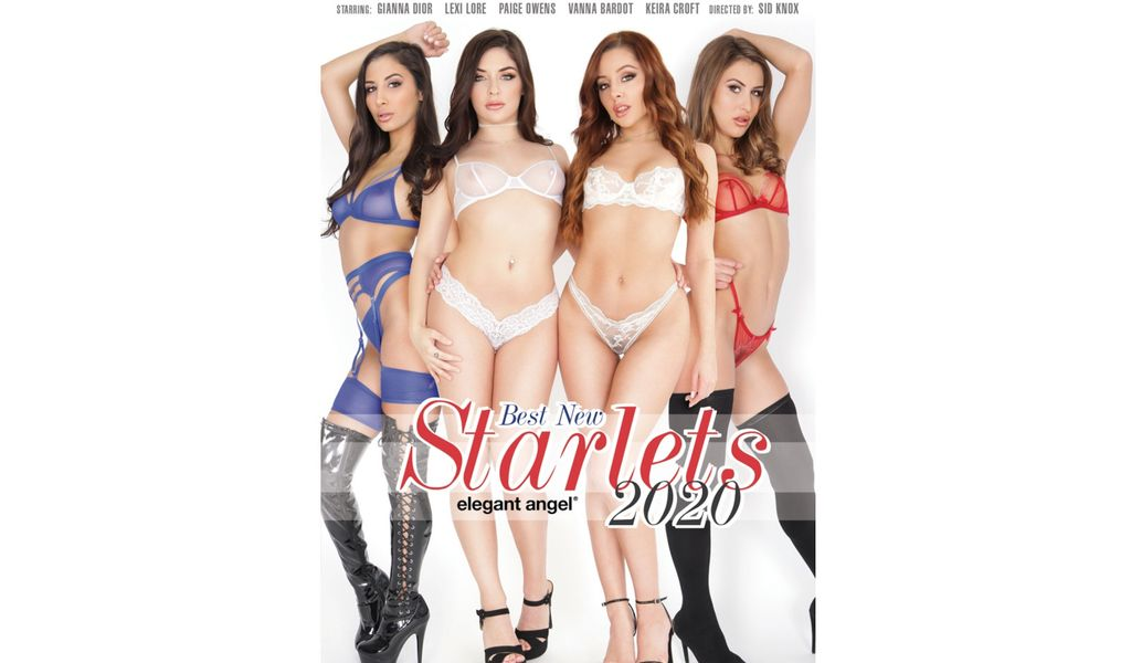 Elegant Angel Is Now Shipping 'Best New Starlets 2020'