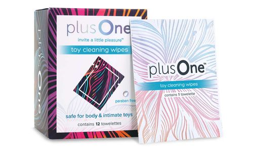 PlusOne Toy Cleaning Wipes