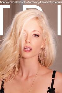 Charlotte Stokely Lands Cover of 'STRIPLV Magazine'