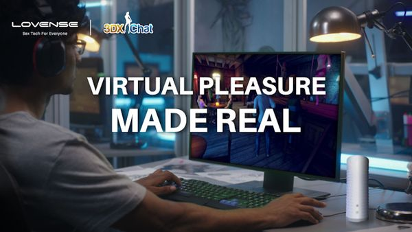 Lovense Toys Now Integrated With 3D Universe of 3DXChat VR