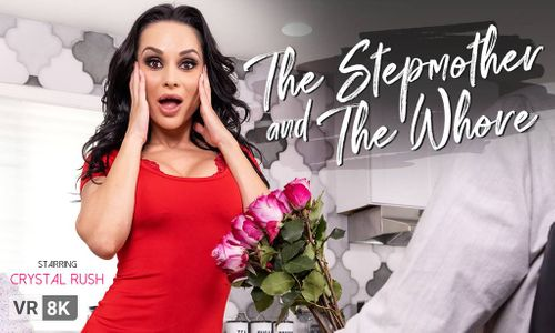 Crystal Rush Is 'The Stepmother and the Whore' for VR Bangers