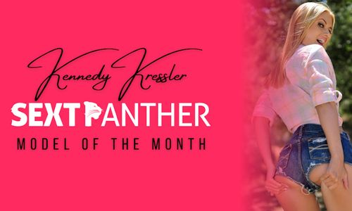 Kennedy Kressler Named SextPanther May Model of the Month