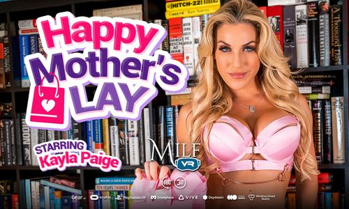 Kayla Paige Has a 'Happy Mother's Lay' at MILF VR