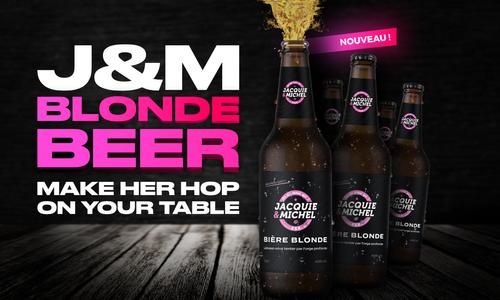 Jacquie & Michel Brings New Blonde to Beer Market