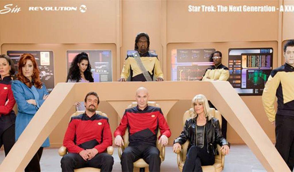 Parody next trek xxx star generation a the Star Trek: