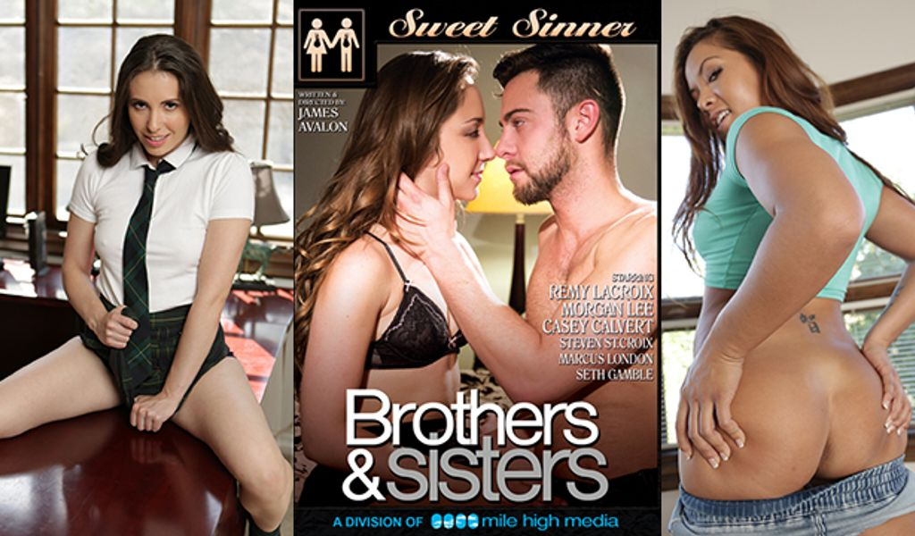 Brother Creampies Busty Sister